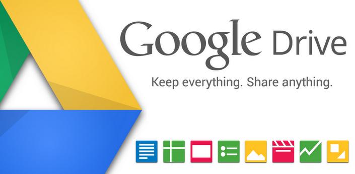 Google Drive si aggiorna alla versione 1.1.4.12 ed introduce tantissime novità