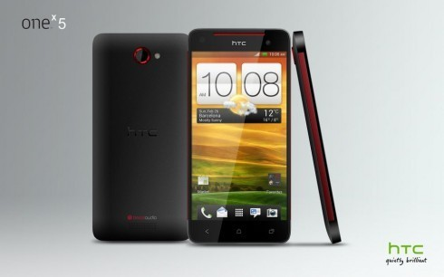 HTC One X 5: nuovo render del nuovo phablet Android