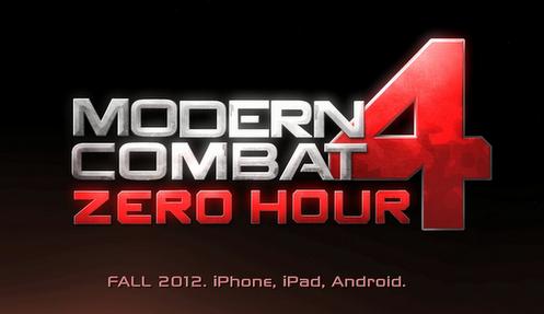 Gameloft rilascia il trailer di Modern Combat 4: Zero Hour