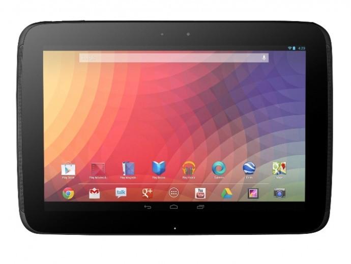 Samsung Nexus 10: display da 2560x1600 pixel a confronto con alcune riviste