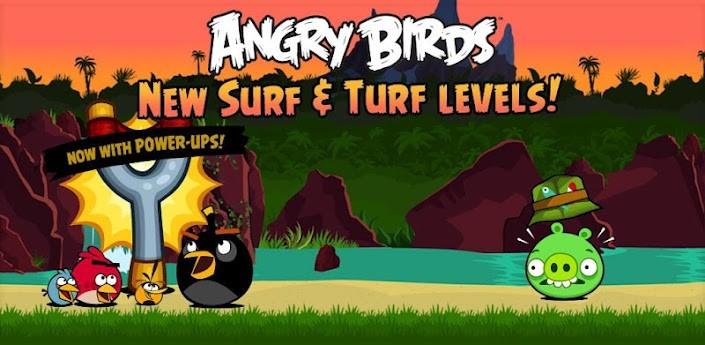 Angry Birds si aggiorna con 30 nuovi livelli e power-up