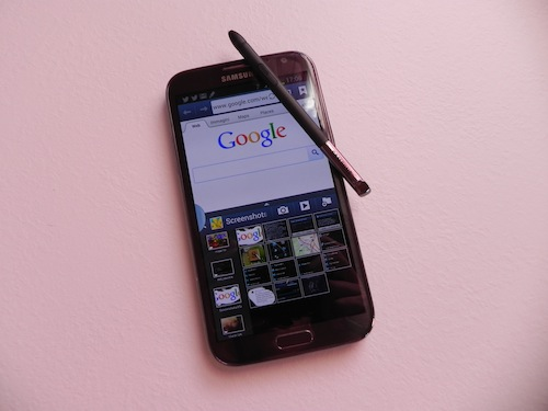 Galaxy Note II: All Share Cast, focus S Pen e Multi Window da Tecnophone