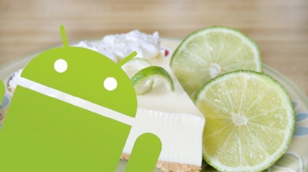 Android 5.0 Key Lime Pie ha nome in codice