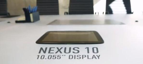 Google presenta ufficialmente il Nexus 10
