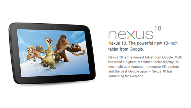 [GOOGLE EVENT] Google presenta ufficialmente il Nexus 10