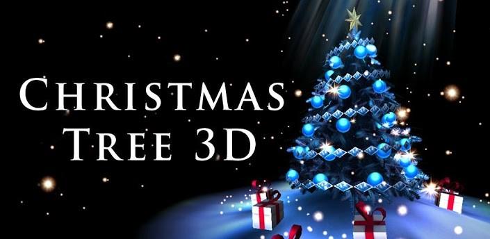 Christmas tree 3d il nuovo live wallpaper natalizio di for Sfondi natale 3d
