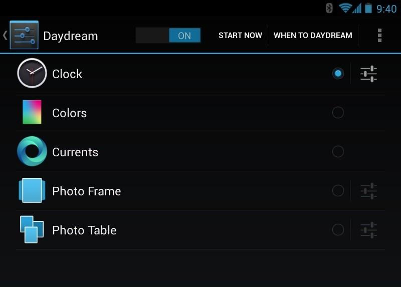 Clock Plus: un'applicazione per arricchire il DayDream