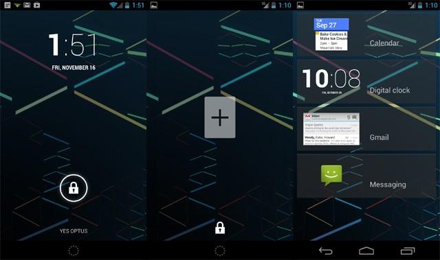 Android 4.2 Jelly Bean: ecco come rimuovere i widgets dal lockscreen