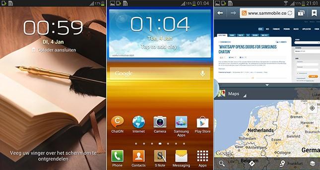Samsung Galaxy Note: trapela il firmware basato su Android 4.1.2