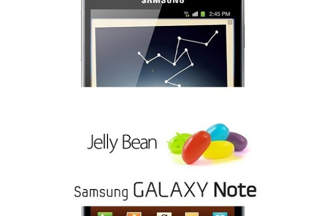 Samsung Galaxy Note: ecco un nuovo firmware basato su Android 4.1.2