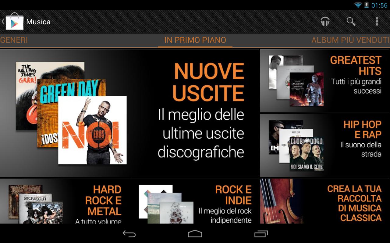 Google Play Music arriva ufficialmente in Italia