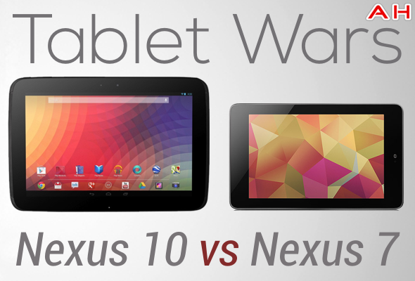 Nexus 7 Vs Nexus 10: la sfida secondo Android Headlines