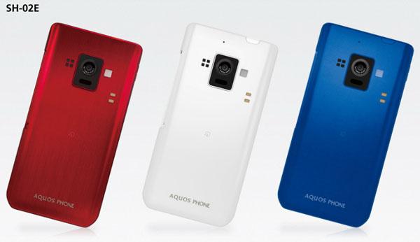 Sharp Aquos Phone Zeta SH-02E: nuovo smartphone Android per il Giappone