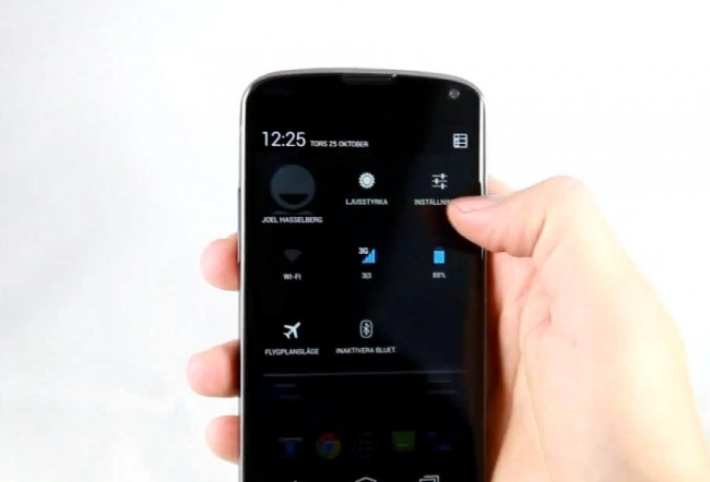 Inside Android 4.2 Jelly Bean: Notifiche e Quick Settings