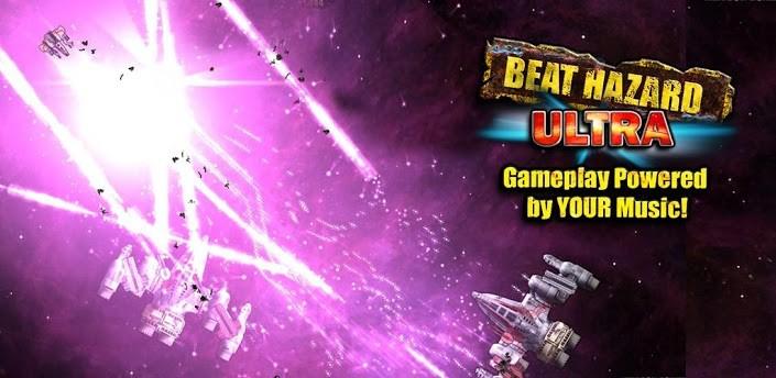 Beat Hazard Ultra: l'arcade game sbarca sul Google Play Store
