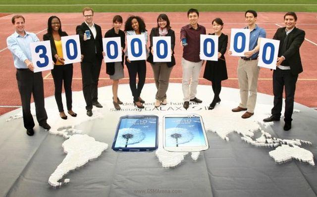 Samsung Galaxy S III: vendute 30 milioni di unità in tutto il mondo
