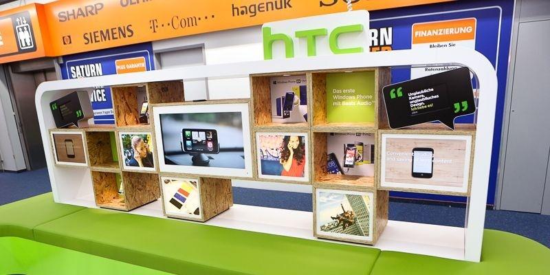HTC apre il suo primo shop-in-shop in Germania
