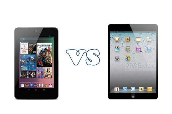 Nexus 7 vs Apple iPad Mini: drop test [VIDEO]