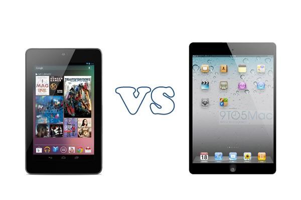 Nexus 7 vs Apple iPad Mini: drop test [VIDEO]