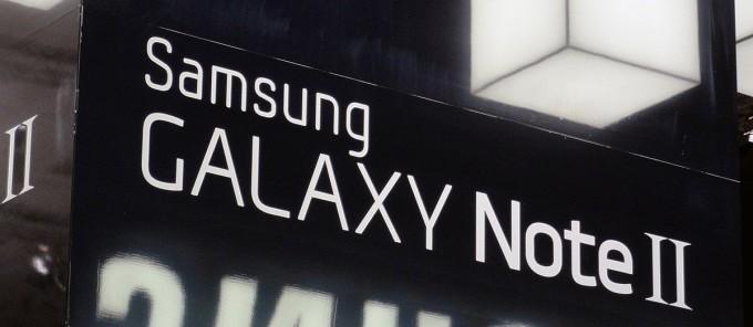 Samsung Galaxy Note II: trapelato il firmware basato su Android 4.1.2