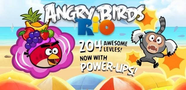 Angry Birds Rio: aggiornamento con 24 nuovi livelli, power-up e altro ancora