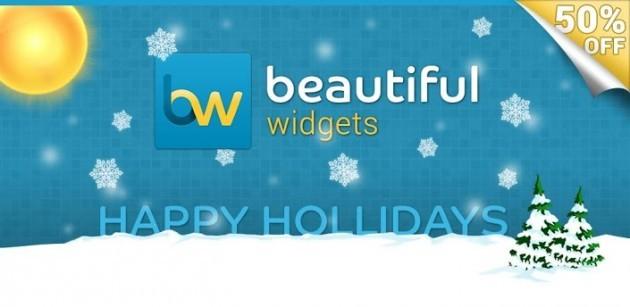 Beautiful Widgets e HD Widgets in offerta sul Play Store