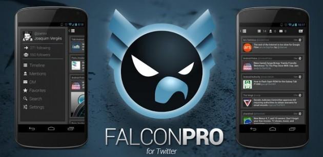 Falcon Pro: il popolare client Twitter si aggiorna alla versione 1.7