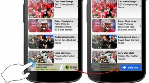 Google aggiunge un tasto di conferma sugli annunci pubblicitari
