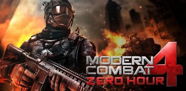 Modern Combat 4: confronto tra la versione Android e la versione iOS