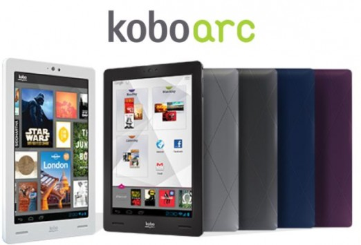 Kobo Arc: disponibile l'aggiornamento ad Android 4.1 Jelly Bean