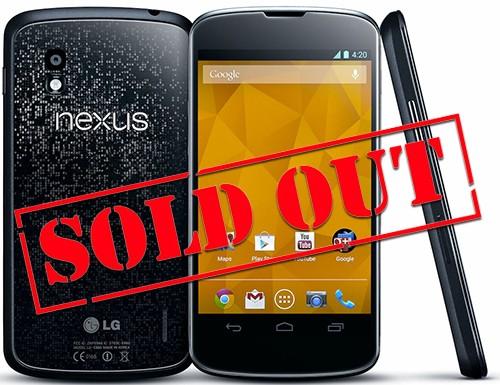 LG Nexus 4: si allungano i tempi di consegna negli USA