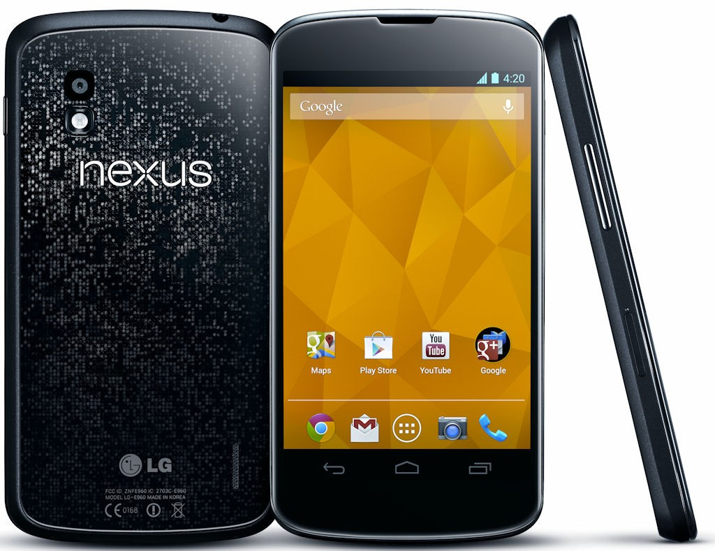 LG Nexus 4: al MediaMarkt arrivo previsto per il 15/01/13