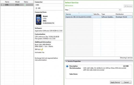 Sony rilascia un flash tool per i suoi dispositivi Xperia