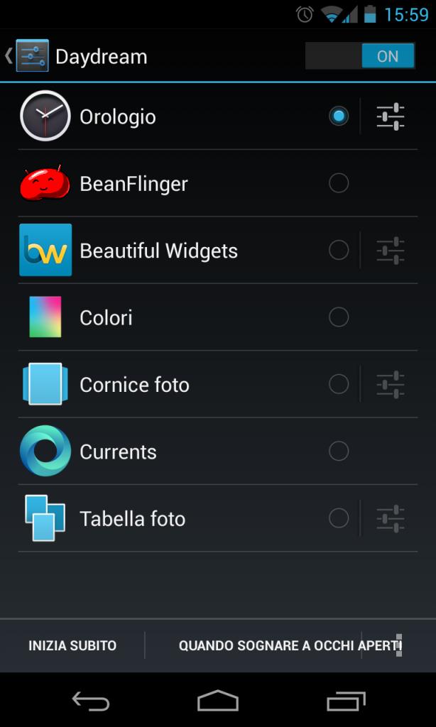 Day Dream Nexus 4