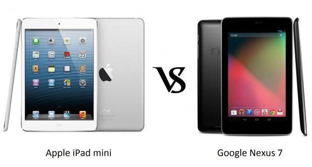 Il Nexus 7 batte gli iPad in Giapp