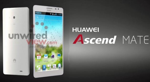 Huawei Ascend Mate e Ascend D2 si mostrano in due immagini ufficiali
