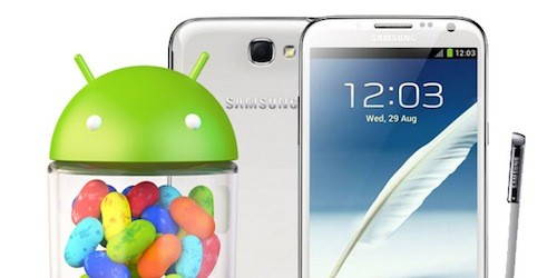 Samsung Galaxy Note II: roll-out imminente per l'update ufficiale ad Android 4.3