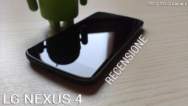 Google Nexus 4: la recensione di Androidiani.com