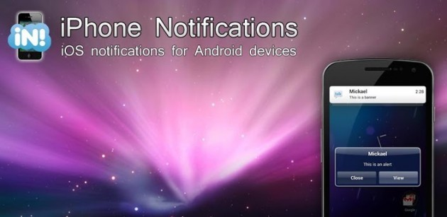 iPhone Notification: le notifiche di iOS anche su Android
