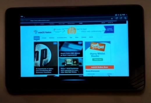Open webOS arriva sul Nexus 7 (video)