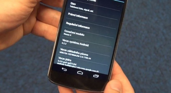 Android 4.2.2 in arrivo a breve?