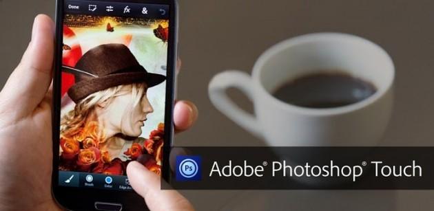Adobe rilascia Photoshop Touch per smartphone al prezzo di 4.49 euro