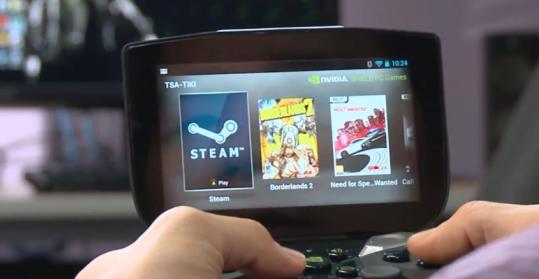 Nvidia Project Shield in video con Borderlands 2