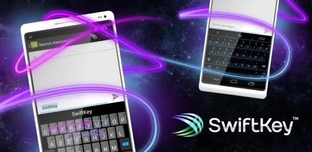 SwiftKey si aggiorna alla versione 4 con il nuovo metodo di scrittura 'flow'