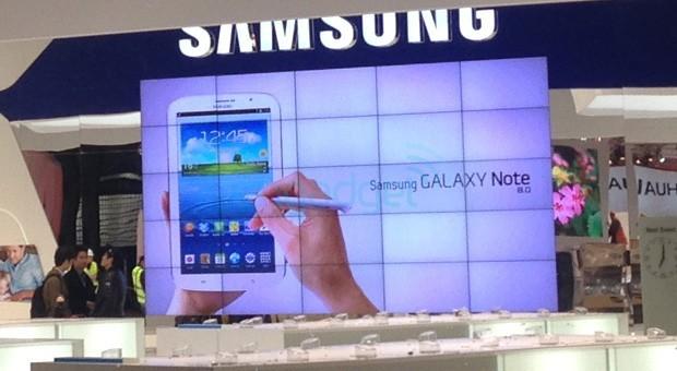 Samsung Galaxy Note 8.0 avvistato al Mobile World Congress 2013