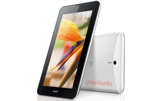 Huawei MediaPad 7 Vogue: primo render del nuovo tablet Android da 7 pollici