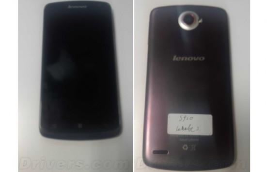 Lenovo S920 e S820: prime immagini e dettagli dei nuovi dispositivi Android