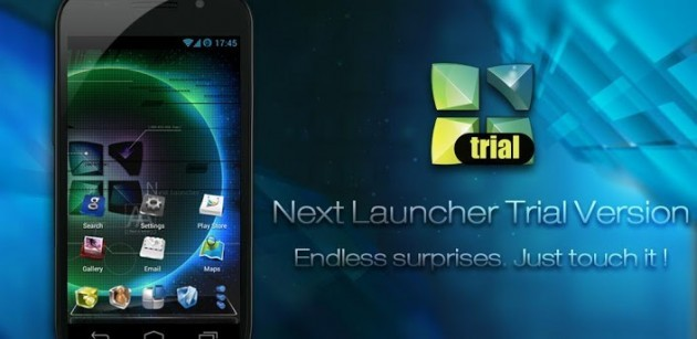 Next Launcher 3D: disponibile la versione trial sul Play Store