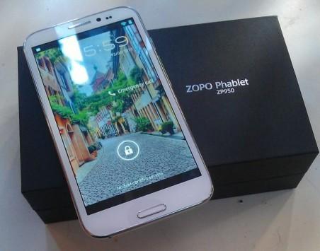Recensione Zopo ZP950 Phablet Leader Max