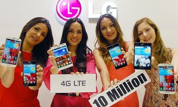 LG: venduti 10 milioni di smartphone LTE